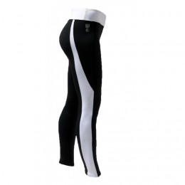 Howzit DHARMA TIGHT Leggings - Lycra White / Black