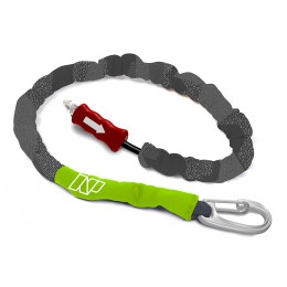 NP surf Leash Handle Pass Team Rider noir/vert