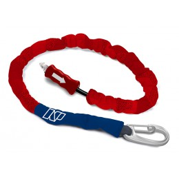 NP surf Leash Handle Pass Team Rider rouge/bleu