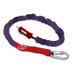 Leash Handle Pass Team Rider violet/rouge