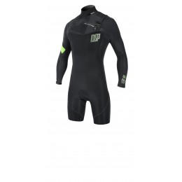 NP surf Mission Shorty M/L Front ZIP noir