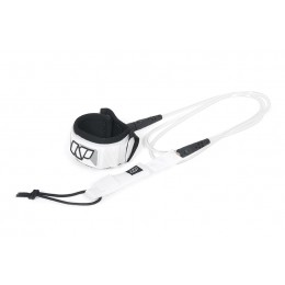 NP surf Leash de SUP genoux blanc