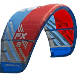 Cabrinha Fx-Freestyle/Crossover - Bleu/rouge