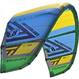 Cabrinha Switchblade-Performance Freeride/Crossover vert/jaune