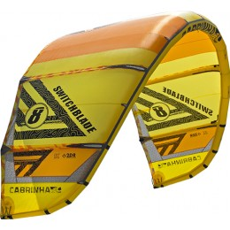 Cabrinha Switchblade-Performance Freeride/Crossover jaune/orange