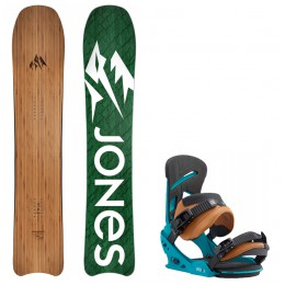 Jones Snowboards pack hovercraft-mission