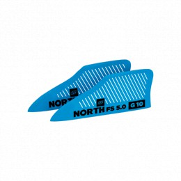 North Kiteboarding ailerons G10 FS 5.0 (x2)