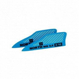 North Kiteboarding ailerons G10 FS 3.5 (x2)