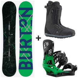 Burton pack custom x + fix genesis + boots ion