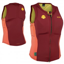 Ion  Ivy Vest Women rouge orange et jaune