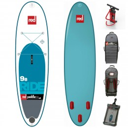 Red Paddle 9'8 ride'
