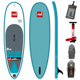 Red Paddle 8'10  whip