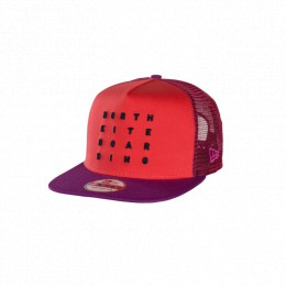 North Kiteboarding NEW ERA CAP 9FIFTY -LETTER RED