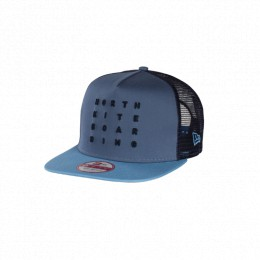 North Kiteboarding NEW ERA CAP 9FIFTY -LETTER BLUE