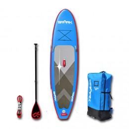 Spark Pack Rebel 10'8 bleu