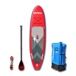 Spark Pack Rebel 10'8 Rouge