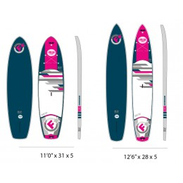 Fresh-Boards Air SUV Pink