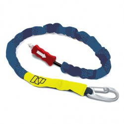 Kite Handle Pass Leash Bleu marine/Jaune