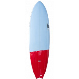 """NSP Surfboards Fighting Fish 6'6"""""""