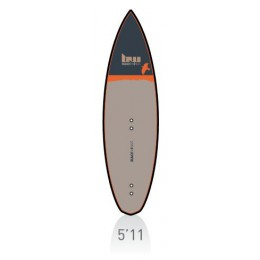 Blackwings BlackWings 5'11 Messerschmidt high wind kite carbon rails