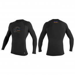 O'Neill Skins Graphic L/S Crew