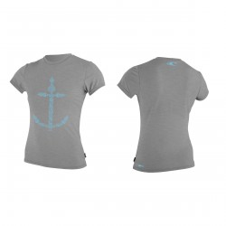 GIRLS HYBRID S/S SURF TEE