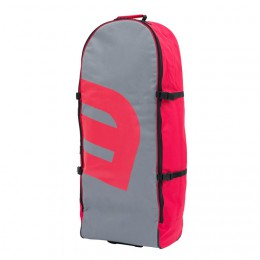 Howzit Sac de transport à roulettes SUP gonflable grey/red