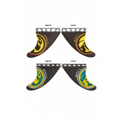 RR PRO ACTIVE CARBON QUAD FINS SET