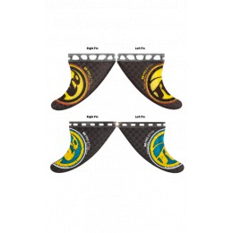 RRD RR PRO ACTIVE CARBON QUAD FINS SET