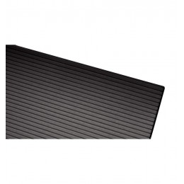 Side-on Plaque de pads 4mm Black