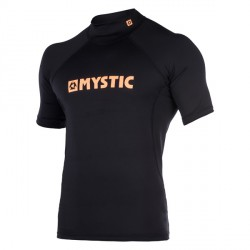 lycra star rashvest s/s noir/orange