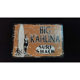 Surfpistols plaque metal Big Kahuna
