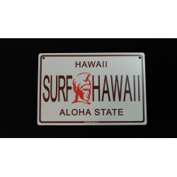 plaque metal Hawaii