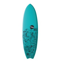 NSP Surfboards Element FISH Turquoise