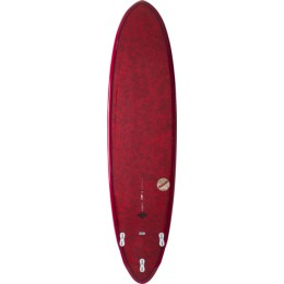 NSP Surfboards Coco Dream Rider Rouge