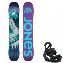 Jones Snowboards pack Dream Catcher + fix stiletto