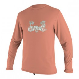 O'Neill Girls TODDLER PREMIUM SKINS SUN SHIRT Corail