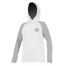 WMS PRINT SUN HOODY WHITE STRIPES