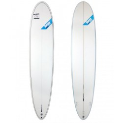 Longboard allround cristal clear