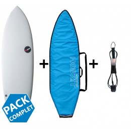 NSP Surfboards pack hybrid protech