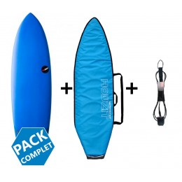 NSP Surfboards pack fish protech