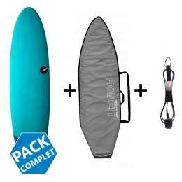 NSP Surfboards pack funboard protech