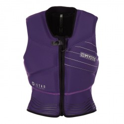 Star Impact Vest Fzip Women Purple