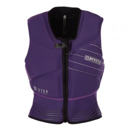 Mystic Star Impact Vest Fzip Women Purple