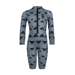 Star Rash Overall Kids Gris