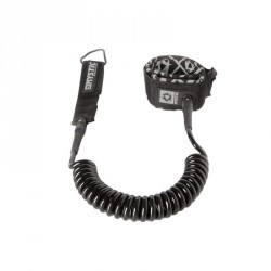 Coiled Leash Black