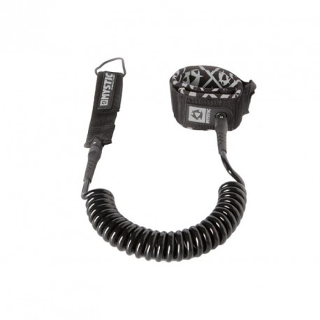 Leash Coiled Black