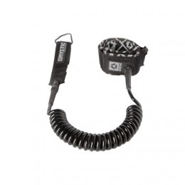Mystic Coiled Leash Black