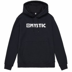 Brand Hood Sweat Black