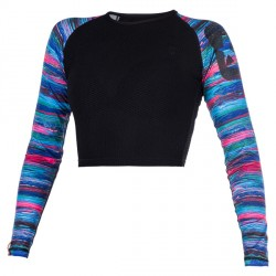 Dazzled L/S Croptop